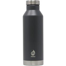 MIZU V6 Botella con Aislamiento con Tapa Acero Inoxidable 600ml, gris